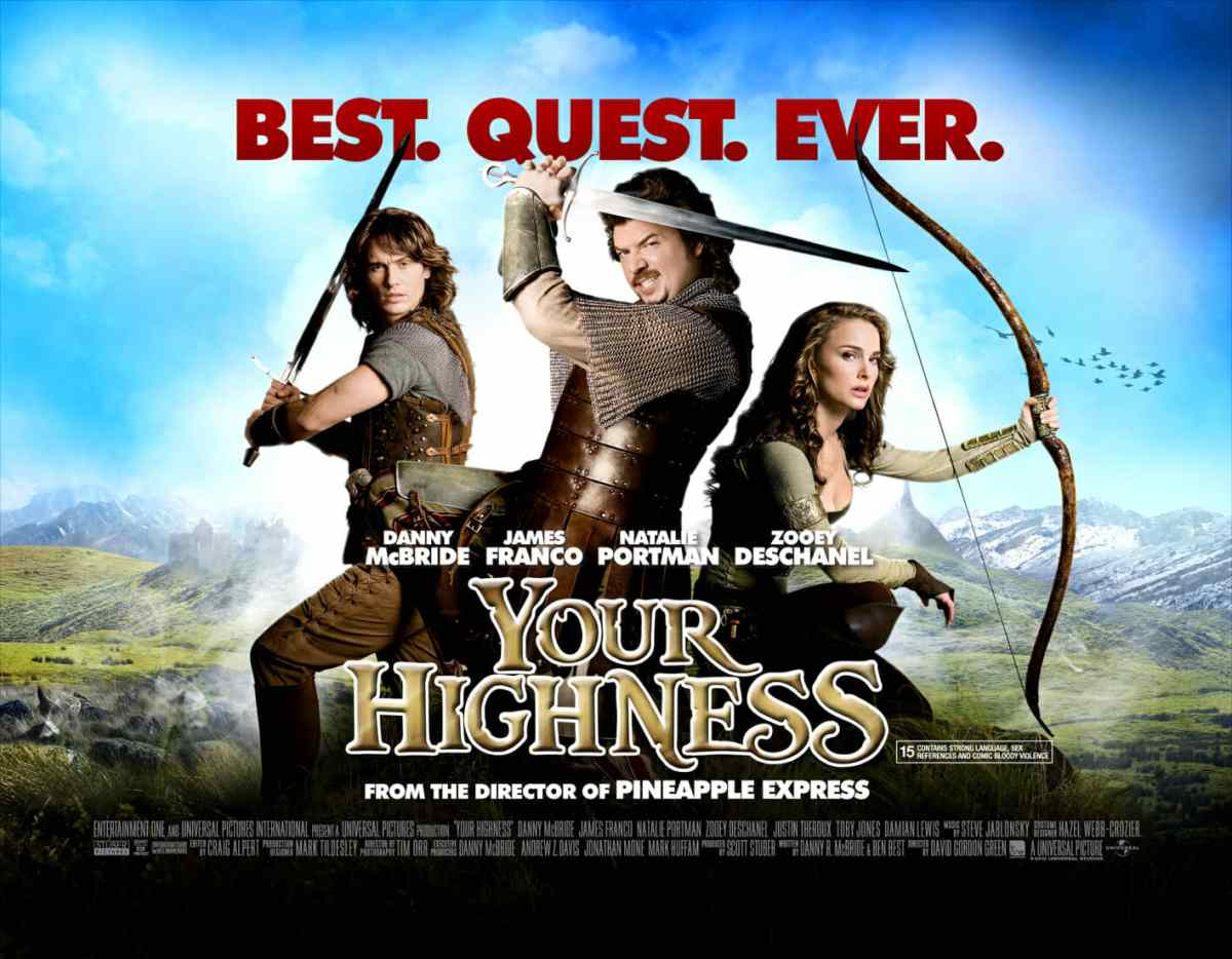 Your Highness - Volgare e becero